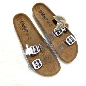 Biostep clear two strap sandal